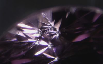 Teated synthetic moissanite by coating