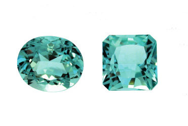 The Santa Maria variety of aquamarine : never heated