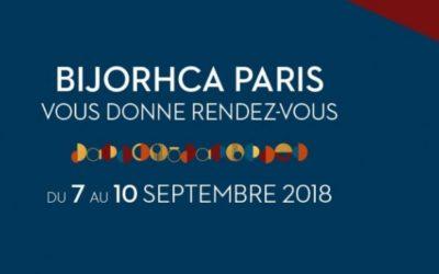 BIJORHCA PARIS SEPTEMBER 2018