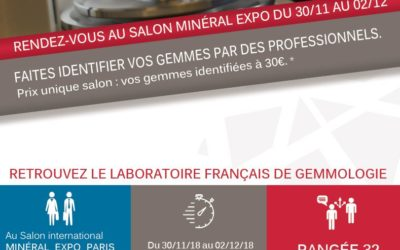 SEE YOU AT MINERAL EXPO
